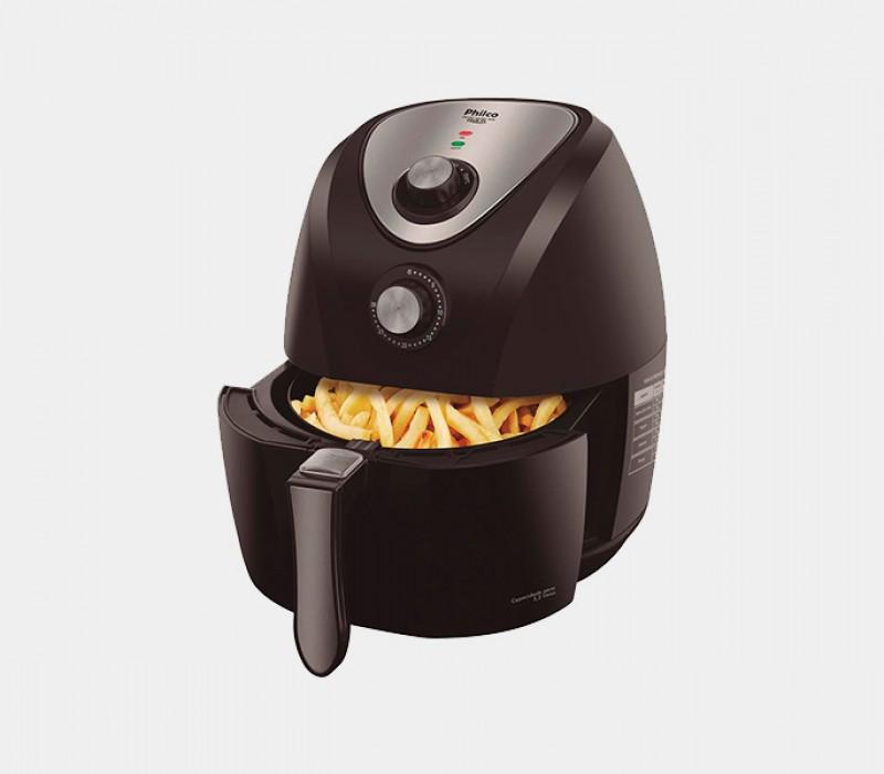 Fritadeira Sem �leo Air Fry Philco Sa�de Inox PH3L 3,2 L - Preta